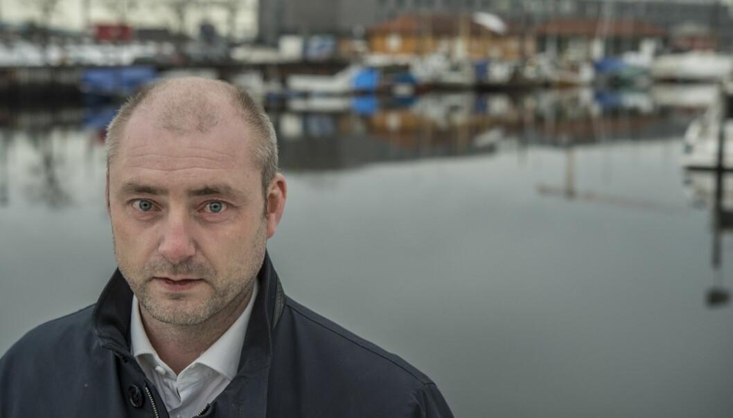 BRANNFAKKEL: Robert Eriksson, direktør i Sjømatbedriftene, kaster en brannfakkel inn i jordbruksforhandlingene når han oppfordrer sin tidligere regjering til å kutte i subsidiene. Foto: Hans Arne Vedlog / Dagbladet