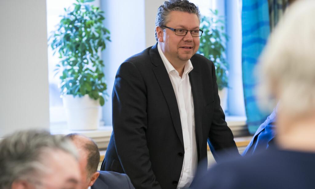 STRAFFEN TILBAKELAGT: Frps Ulf Leirstein utelukker ikke gjenvalg til Stortinget og mener straffen han fikk av partiet, er et tilbakelagt stadium. Foto: Heiko Junge / NTB scanpix