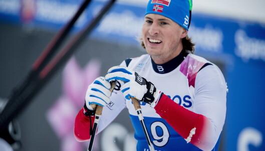 MARERITTET: Kasper Stadaas var lykkelig over å ha vunnet NM-bronse i sprint, men er nå disket. Foto: Bjørn Langsem / Dagbladet