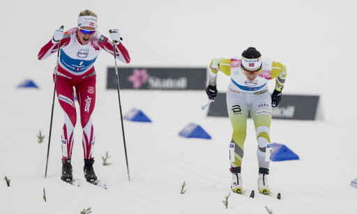 DUELLEN: Blir det Marit Bergen eller Kathrine Harsem for Norge i OL-sprinten? Foto: Bjørn Langsem / Dagbladet