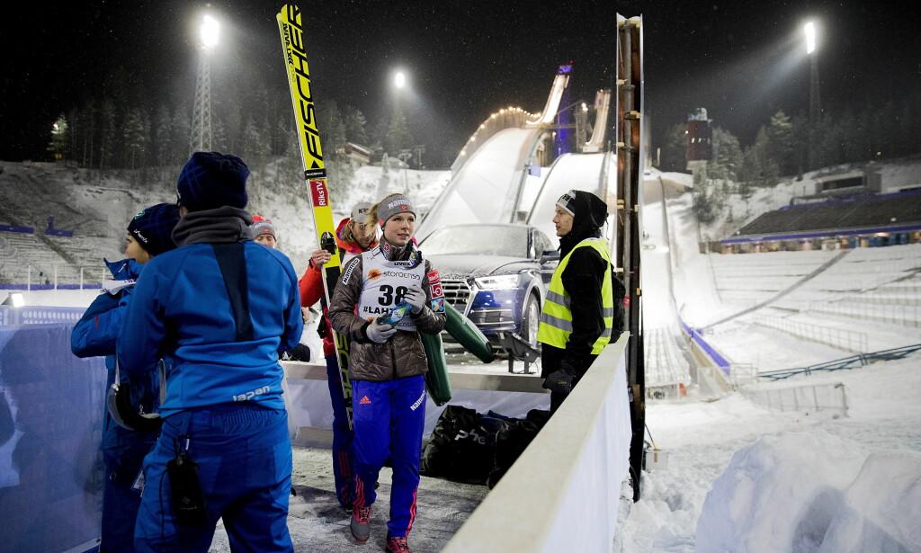 STORFAVORITT: Maren Lundby. Foto: Bjørn Langsem / Dagbladet