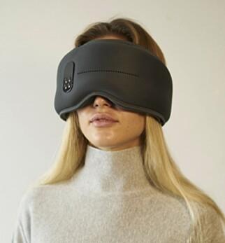 IKKE AKKURAT DISKRET: Philips' pannebånd har ingenting å stille opp mot Dreamlight-maska hva gjelder klumpete design. Foto: Dreamlight