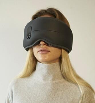 <strong>IKKE AKKURAT DISKRET:</strong> Philips' pannebånd har ingenting å stille opp mot Dreamlight-maska hva gjelder klumpete design. Foto: Dreamlight