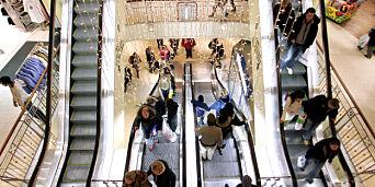 image: Men man shopper da aldri! Kvinnene på CCvest handler!