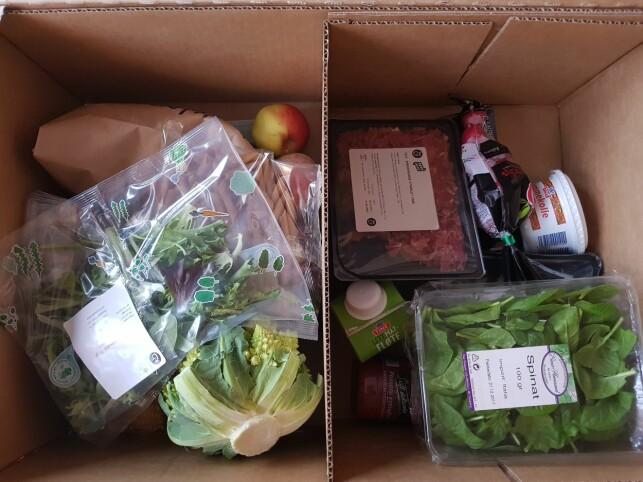 LETTE DAGER: Ukens Roede-meny byr på grønnsaker, karbonadedeig, fiskekaker og magrere meieriprodukter.