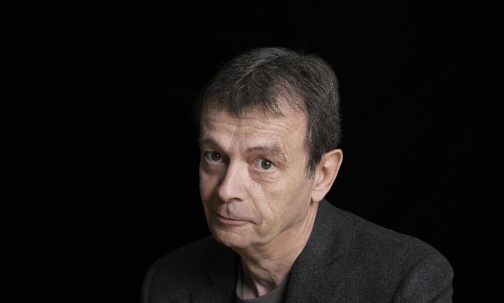 POPULÆR FRANSKMANN: Pierre Lemaitre (66) er en av Frankrikes mest populære krimforfattere for tida. Foto: Foto: Thierry Rajic/Aschehoug