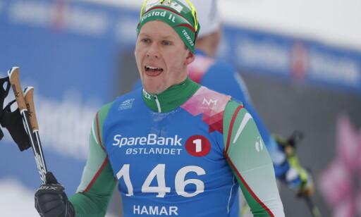 SKUFFET: Anders Gløersen. Foto: Bjørn Langsem / Dagbladet