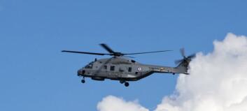 Helikoptertypen det norske Forsvaret skal kjøpe satt på bakken i Belgia