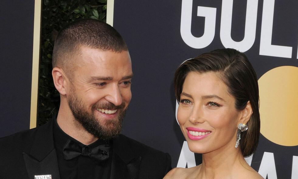 BLE FORELDRE: Justin Timberlake er aktuell med både album og film om dagen. Grunnen til at det er en stund siden sist, er at han og kona Jessica Biel har blitt foreldre. Foto: NTB SCANPIX