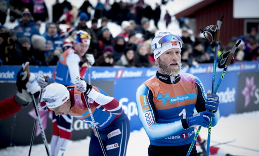 GULLKANDIDATER: Finn Hågen Krogh og Martin Johnsrud Sundby kan begge kjempe om OL-gullet på tremila. Foto: Bjørn Langsem / Dagbladet