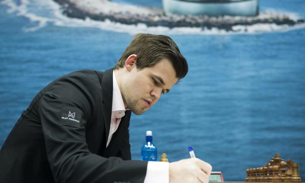 image: Remis for Carlsen i toppkampen