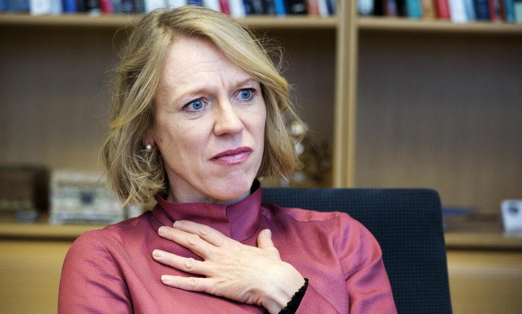 image: Giske-fall et tap for Ap .. men Anniken Huitfeldt takker varslerne og mener Ap kommer styrket ut av metoo-kampanjen