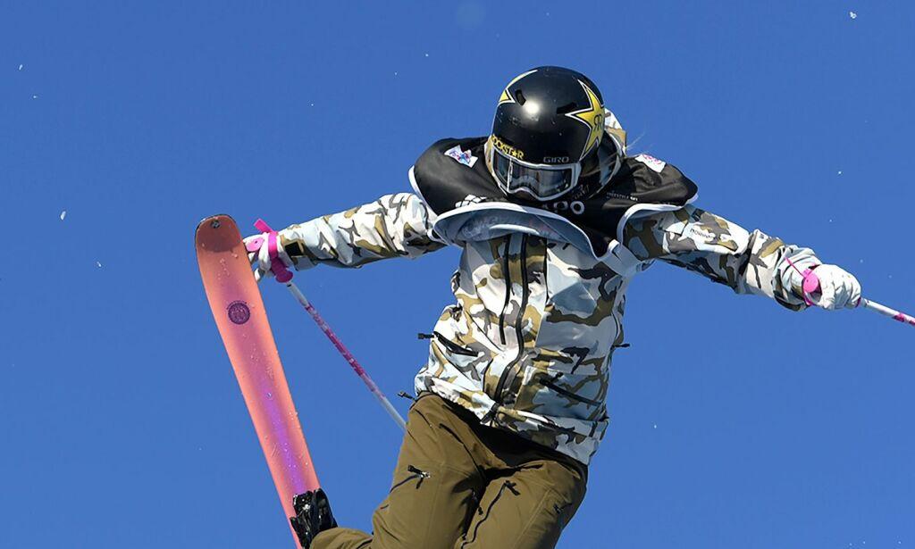image: Johanne Killi på pallen i Big Air