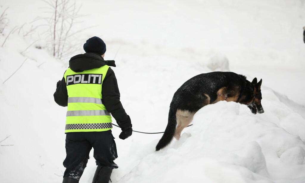 OMFATTENDE LETING: Politiet har lett etter Janne Jemtland i over to uker. Foto: Christian Roth Christensen / Dagbladet