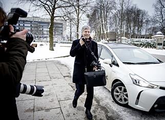 PÅ VEI INN: Nestleder i Venstre, Ola Elvestuen Foto: John Terje Pedersen