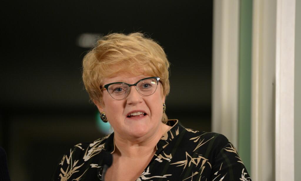 - RAUSERE: Trine Skei Grande mener hennes parti har bidratt til en rausere regjering. Foto: John Terje Pedersen / Dagbladet