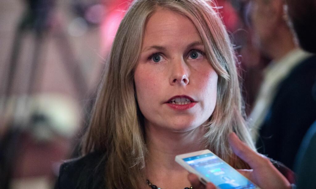 IKKE IMPONERT: SV og Kirsti Bergstø. Foto: Audun Braastad / NTB scanpix