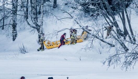 FUNN: Dykkere gjorde i går funn av et lik i Glomma. De mener den døde kvinnen er Janne Jemtland. Foto: Christian Roth Christensen / Dagbladet