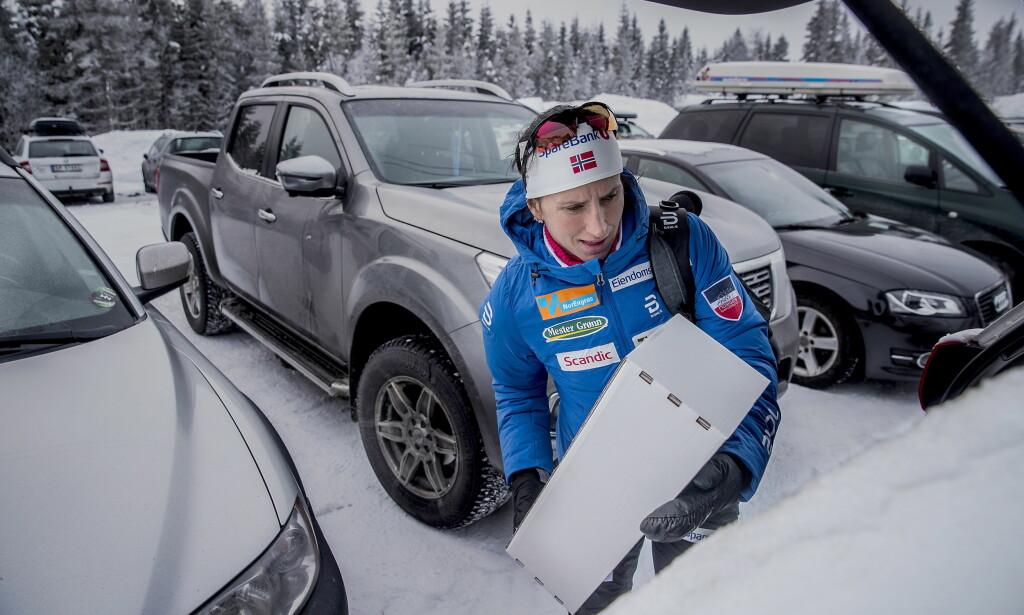 JAGER OL-REKORD:  Marit Bjørgen Foto: Bjørn Langsem / Dagbladet