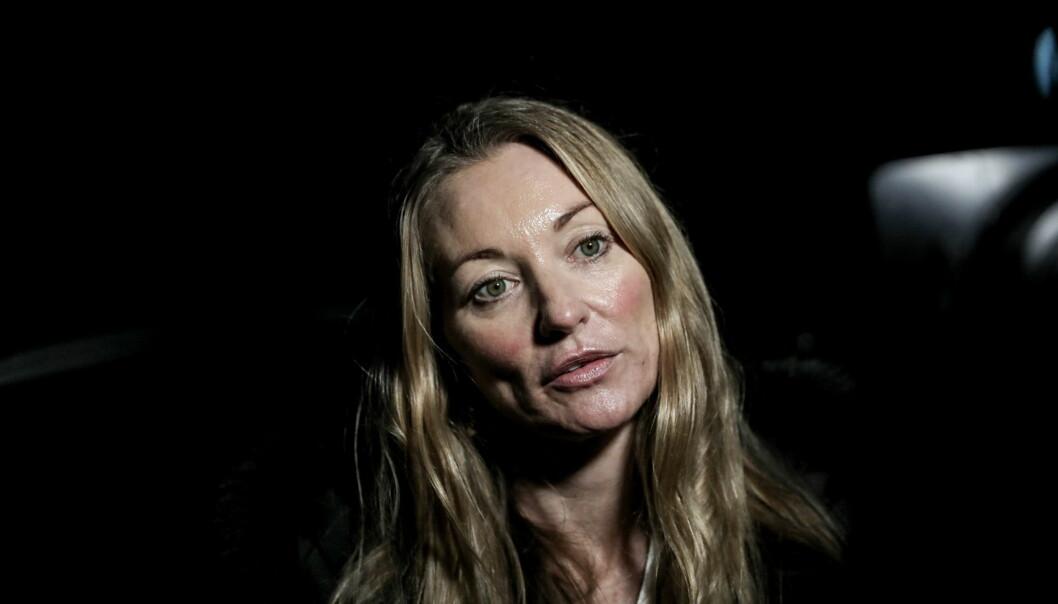 FORSVARER: Ida Andenæs i Advokatfirmaet Elden forsvarer den drapssiktede mannen. Foto: Christian Roth Christensen / Dagbladet