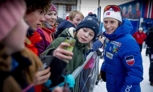 POPULÆR: Marit Bjørgen var kanskje det aller største trekkplasteret under ski-NM på Gåsbu - og slo til med tre nye NM-gull. Foto: Bjørn Langsem / Dagbladet