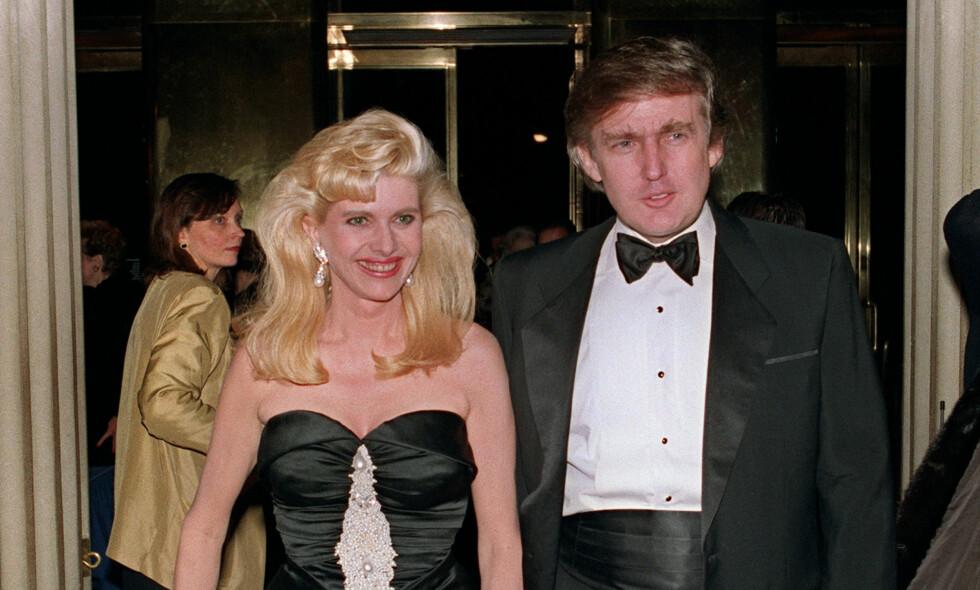 Tar eksen i forsvar: President Donald Trumps første kone, Ivana, tar eksmannen i forsvar og sier at han ikke er rasist. Foto: Bill Swersey / AFP / NTB Scanpix
