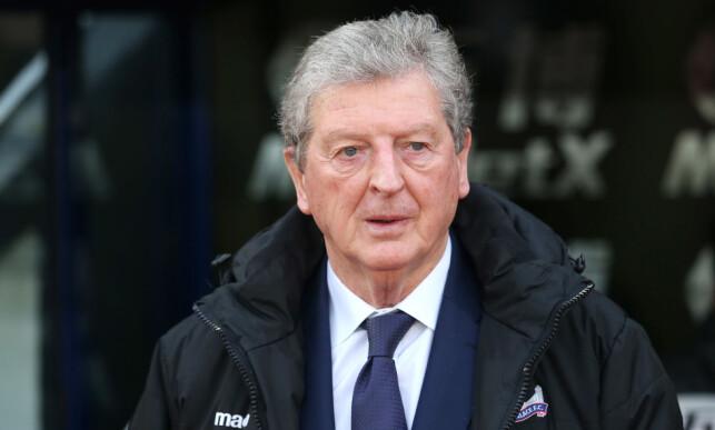 HAR SNUDD SKUTA: Crystal Palace-manager Roy Hodgson. Foto: Dan Weir/PPAUK/REX/Shutterstock/NTB Scanpix