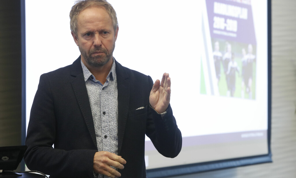 NYTT PROSJEKT: NFFs generalsekretær Pål Bjerketvedt har tatt eierskap til ideen om Elitefotball Norge. Foto: Lise Åserud / NTB scanpix