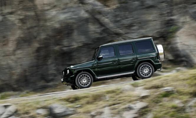<strong>NY? JA, UTROLIG NOK:</strong> Mercedes har nok moderne SUV-er på sitt modellprogram til å kunne tillate seg å utvikle en helt ny G-klasse i den stilen entusiastene vil ha - med den klassiske terrengbilprofilen intakt. Foto: Daimler