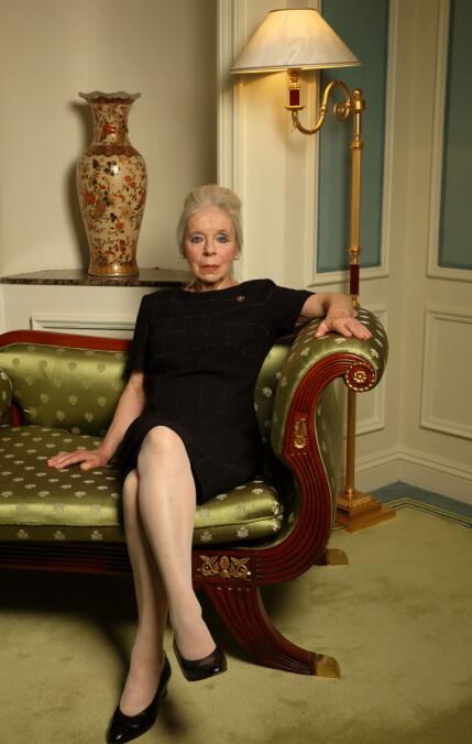 FUNNET I SITT EGET HJEM: Lady Lucan døde i september i fjor, og det er nå kjent at hun ikke etterlater seg noen verdier til familien. Foto: NTB Scanpix