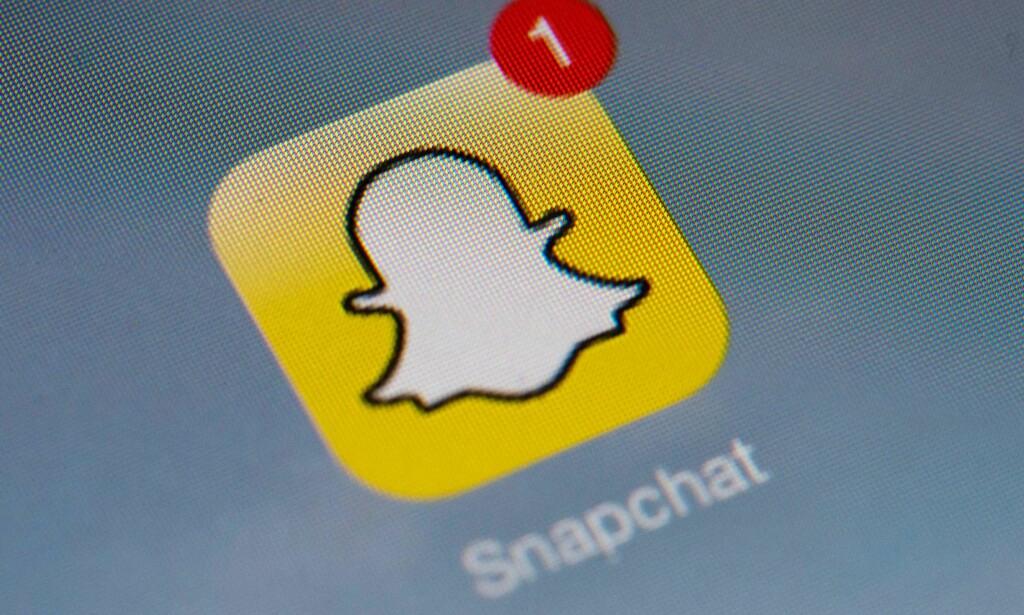 SATSER HARDT: Snapchat tar grep for å ikke tape terreng i krigen om brukerne. Foto: Håkon Mosvold Larsen / NTB Scanpix