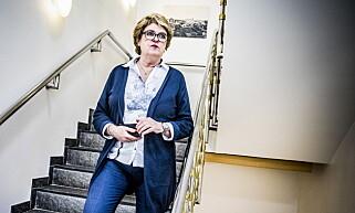 BISTANDSADVOKAT. Inger Johanne Reiestad Hansen i kontorlokalene til advokatfirmaet Campbell på Hamar. Foto: Christian Roth Christensen / Dagbladet