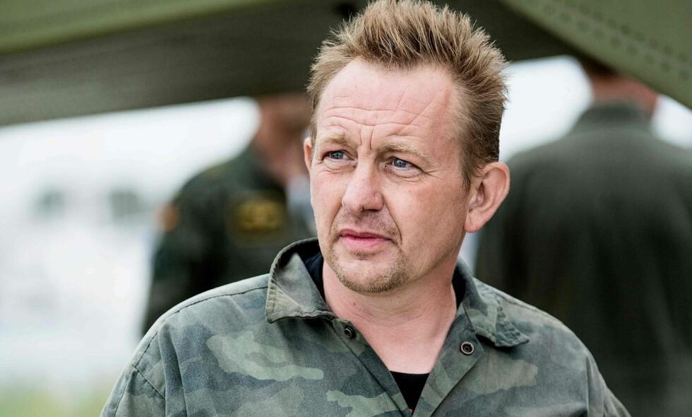 TILTALT: Oppfinner Peter Madsen (47) er tiltalt for overlagt drap mot den svenske journalisten Kim Wall (30). Påtalemyndigheten ber om livstid i fengsel for dansken. Foto: AFP PHOTO / Scanpix Denmark / Bax Lindhardt / NTB Scanpix