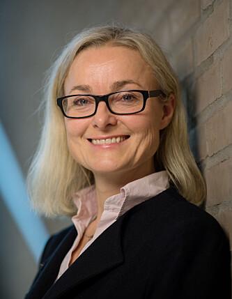 Janicke Scheele, leder for ansvarlige og bærekraftige investeringer i DNB. Foto: Stig B. Fiksdal.