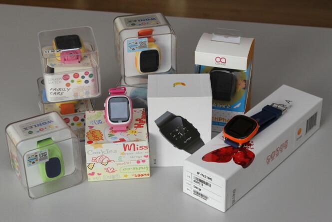 <strong>SJEKKET 18 KLOKKER:</strong> Nkom har gjennomført en markedskontroll av 18 smartklokker for barn, inkludert klokkene fra Gator AS. Foto: Eivind Rossen/Nkom