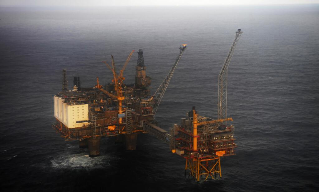 SMELL: Oljefondet har tapt og tapt og tapt gjennom årets første tre måneder. Foto: Marit Hommedal, NTB scanpix