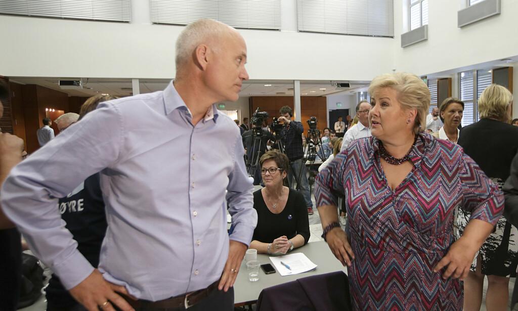 - BLE VARSLET: Christopher Wand hevder han varslet daværende generalsekretær i Høyre Lars Arne Ryssdal (bildet) om en alvorlig hendelse i 2014. Foto: Vidar Ruud / NTB scanpix