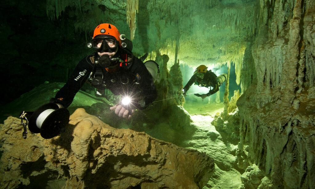 VERDENS LENGSTE: Grotten strekker seg over 347 kilometer. Foto: Reuters