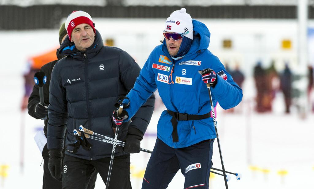 GIR OPP: Petter Northug er fortsatt forkjølet og går ikke verdenscupsprint i Planica.Foto: Ned Alley / NTB scanpix