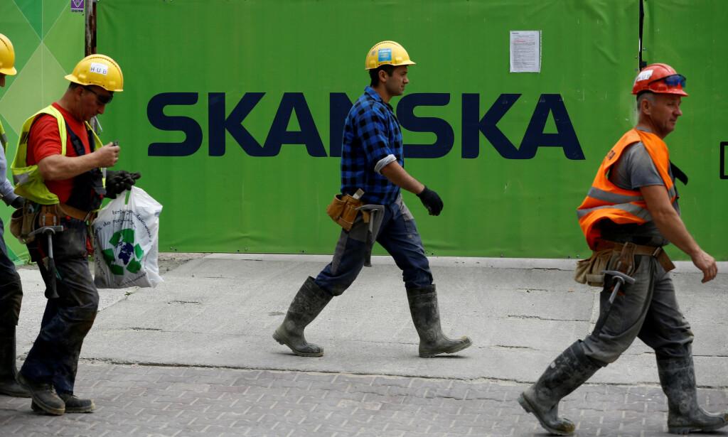 MISTER JOBBEN: 3 000 mister jobben i Skanska. Bildet er fra Polen i en annen forbindelse. Foto: REUTERS/Kacper Pempel/File Photo