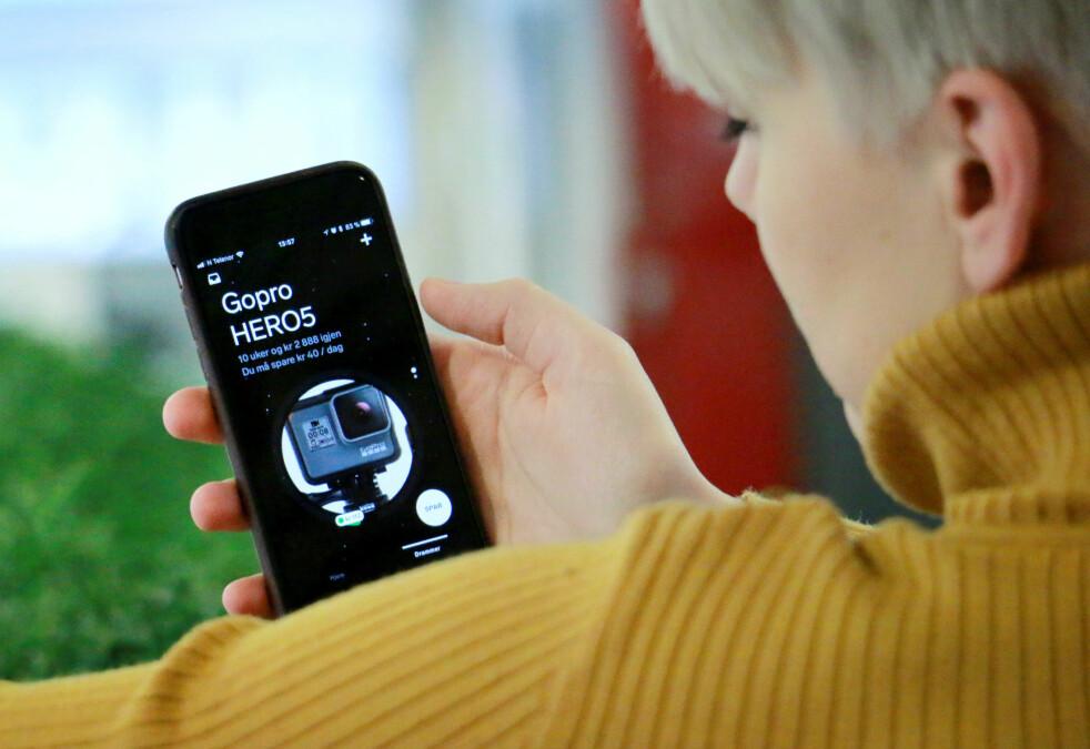 <strong>MER AV DETTE:</strong> Spareappen Dreams ble nylig lansert i Norge. Den skal gjøre sparing morsommere, gjennom «spillifisering» og en lekker app, men krever i dag at du oppretter en konto hos Storebrand. Snart kan appene gjøre som de vil med pengene du allerede har. Foto: Ole Petter Baugerød Stokke