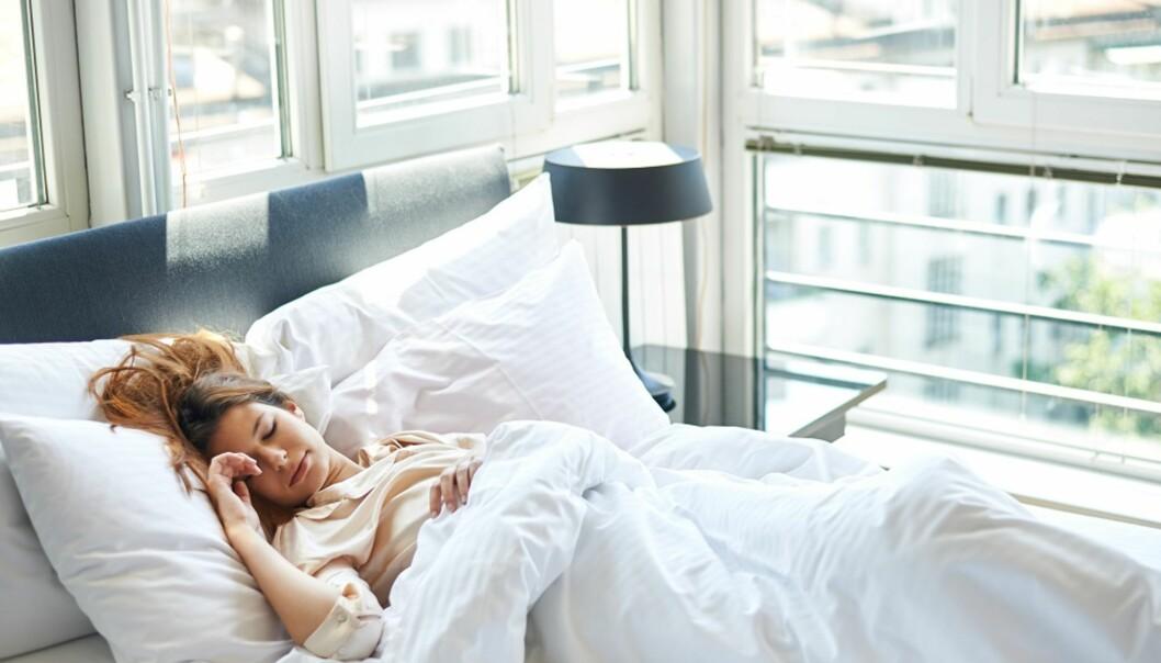 EN GOD NATTS SØVN: Søvn er viktig for hvordan vi fungerer, men ikke alle sovner på et blunk. NTB Scanpix