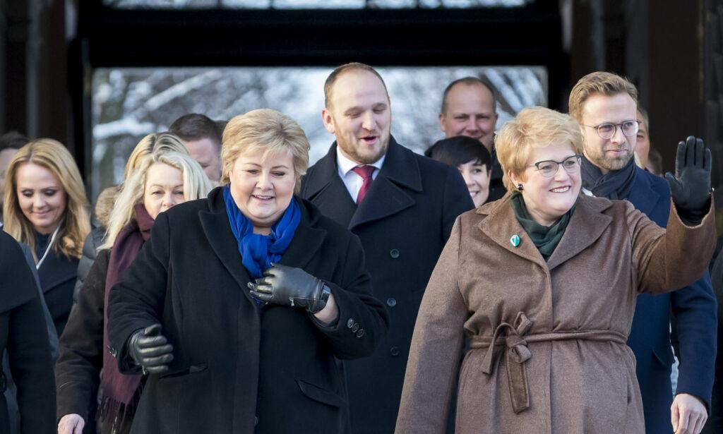 image: Hvis dette skal holde, må Erna Solberg bli Trine Skei Grandes trofaste støttekontakt