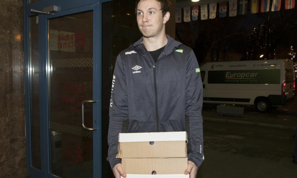 KRITISK: Sander Sagosen om hvordan landslaget blir framstilt. Foto: Vidar Ruud / NTB scanpix