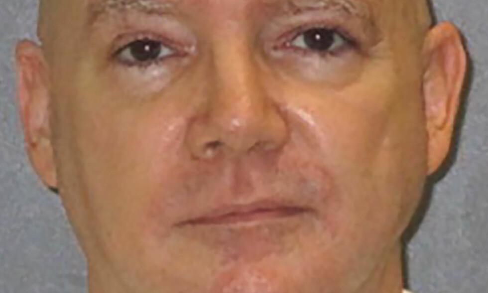 SKAL HENRETTES: Han har fått utsatt henrettelsen tidligere, men nå ser tiden ut til å renne ut for seriemorderen Anthony Allan Shore. Foto: AFP PHOTO / Texas Department of Criminal Justice / NTB scanpix
