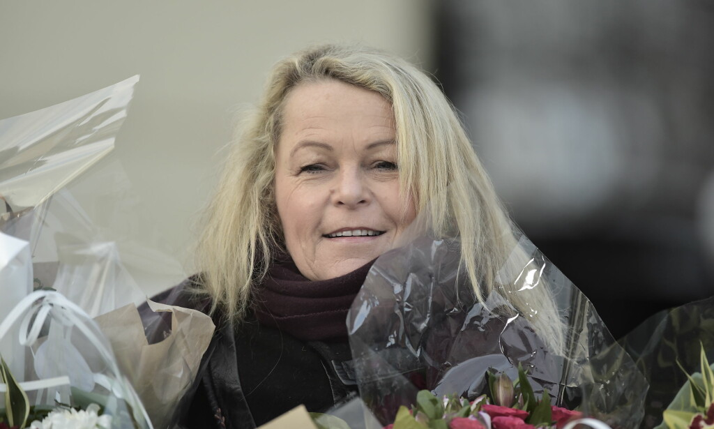 HISTORISK: Åse Michaelsen (57), tidligere stortingsrepresentant for Frp fra Mandal i Vest-Agder, ble i går utnevnt til Norges første eldre- og folkehelseminister. Foto: Hans Arne Vedlog / Dagbladet