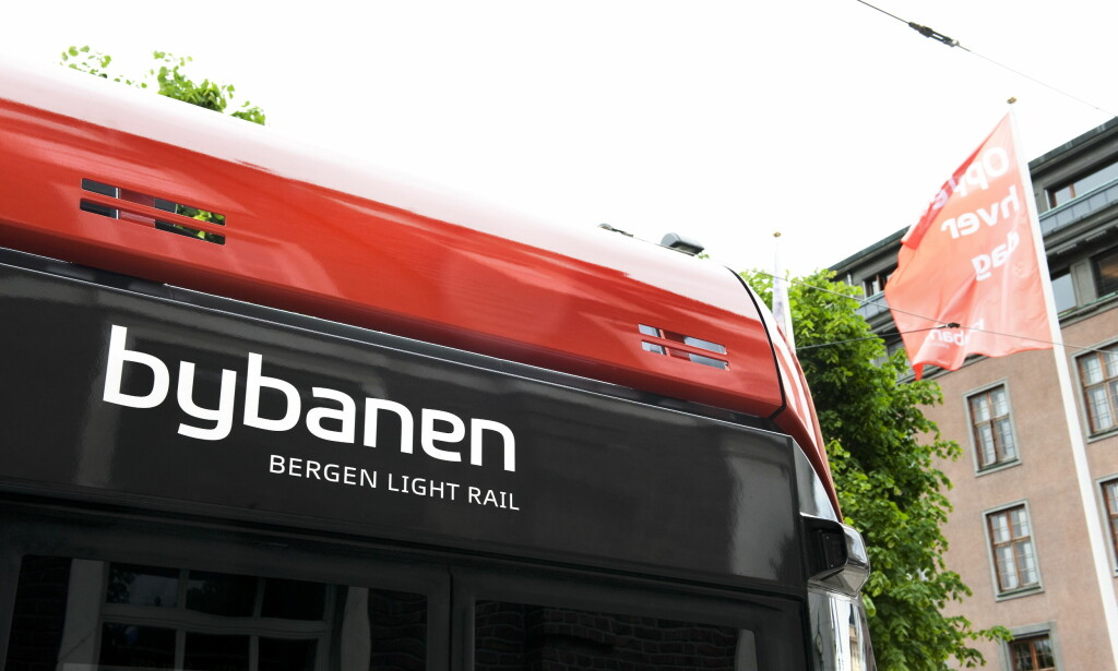 FORLENGER BYBANEN: Byrådet i Bergen forlenger bybanen. Foto: Marit Hommedal / SCANPIX