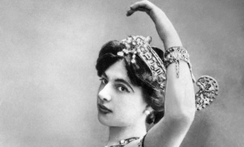 MINORITET: Danseren og spionen Margaretha Geertruida Zelle, bedre kjent som Mata Hari, var friser fra byen Leeuwarden i Nederland, i likhet med mange kjente skøyteløpere. Foto: NTB SCANPIX