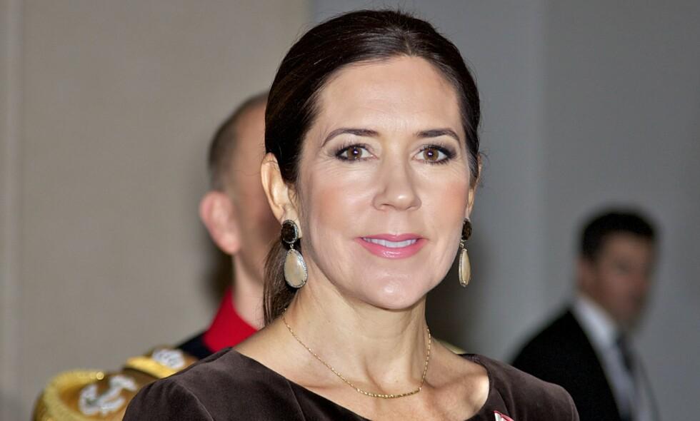 MISBRUKT I REKLAME: Dette er ikke første gang den danske kronprinsessen blir misbrukt i reklamer på nettet. Foto: NTB scanpix