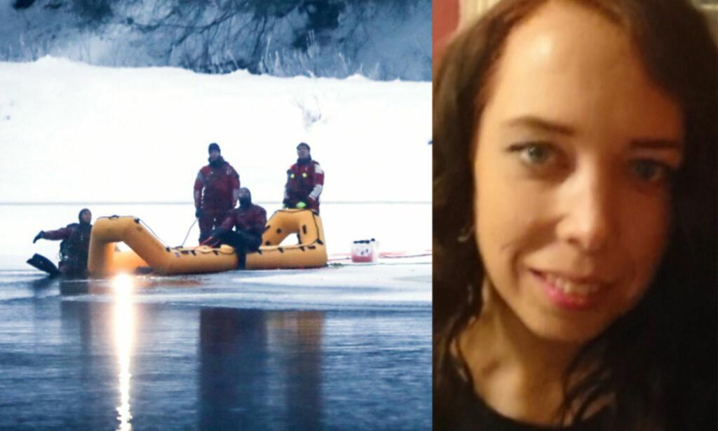 FUNNET DREPT: Janne Jemtland (36) ble lørdag funnet i Glomma i Våler kommune, nesten 80 kilometer fra hjemmet utenfor Brumunddal. Foto: Christian Roth Christensen / Dagbladet, privat